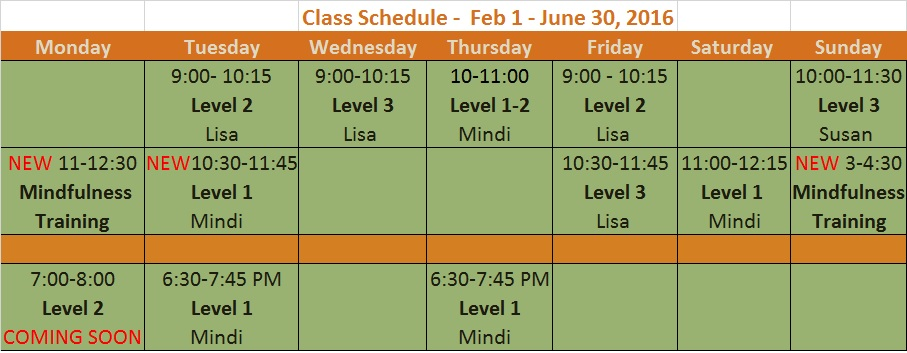ECYS classsched.